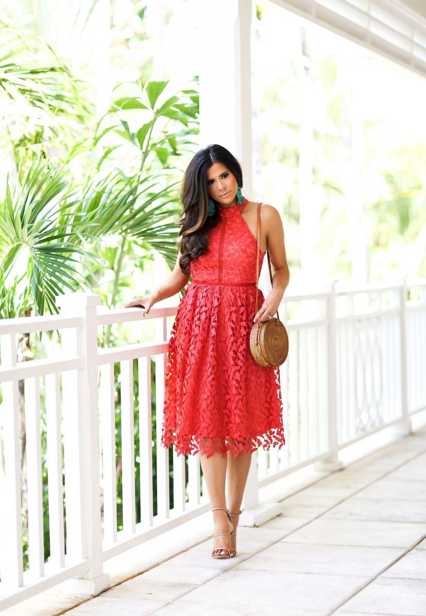 Coral Designer Dresses