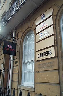 British Armed Forces recruitment centre in Oxford . Inquire before your hire