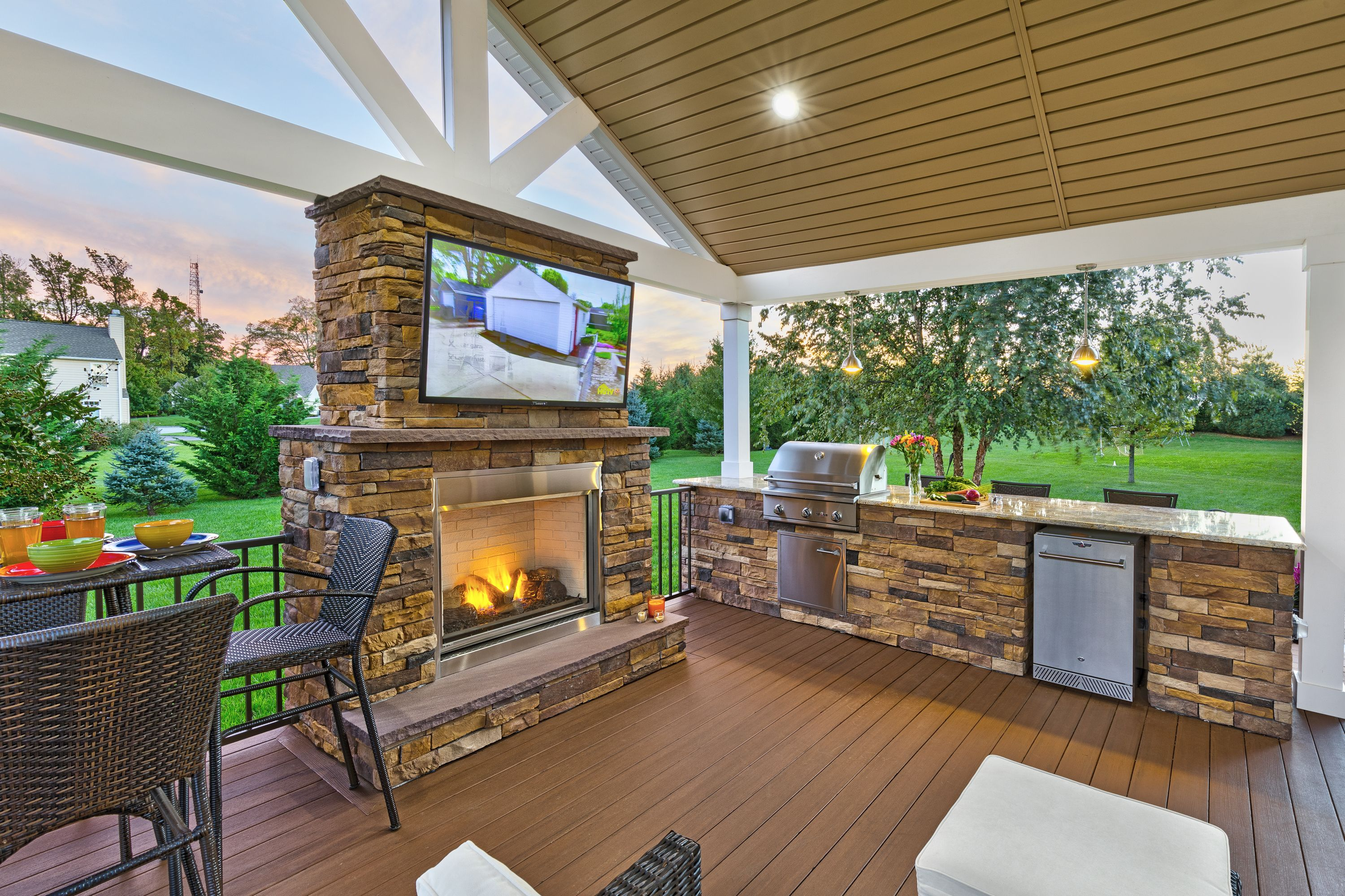 Custom outdoor living space designers Delaware | Outdoor ... on Disabatino Outdoor Living id=44339