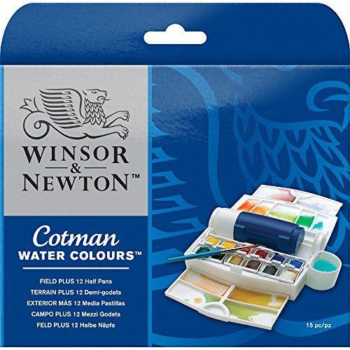 Winsor Newton Cotman Water Colour Paint Field Plus Set Https
