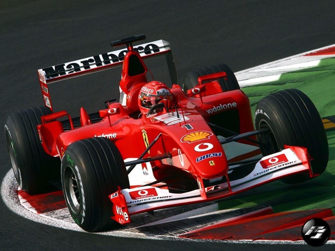 2002 Formula 1 Italian Grand Prix Michael Schumacher Ferrari Michael Schumacher Ferrari Racing