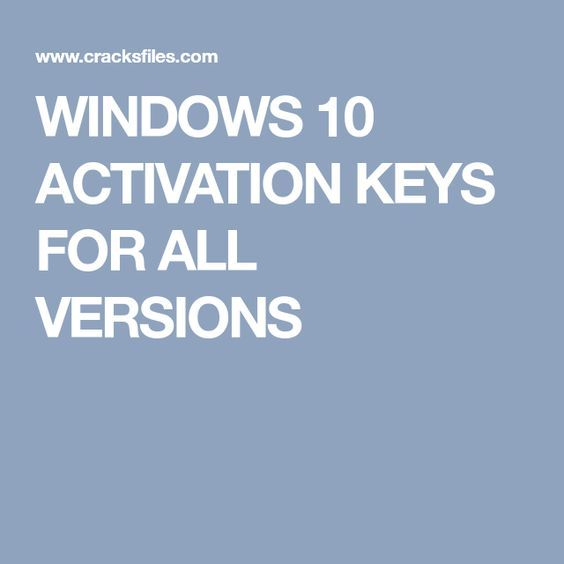 WINDOWS 10 ACTIVATION KEYS FOR ALL VERSIONS Miscelânea Pinterest - free spreadsheet application for windows 10