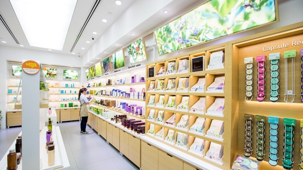 Image result for korean skincare store interior Skincare