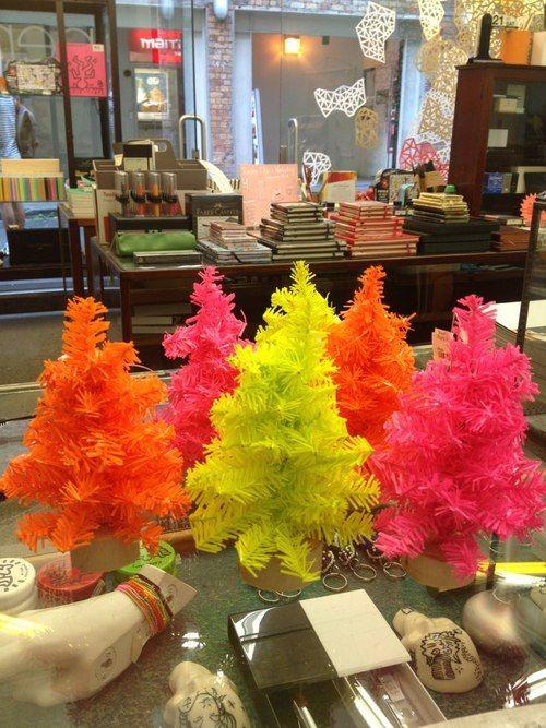 Mini Neon #Christmas Trees   Office Stationery Wishlist ...