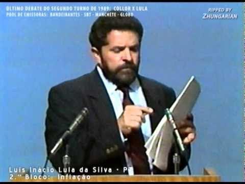 Último Debate Lula X Collor 1989 - Parte 5 de 14