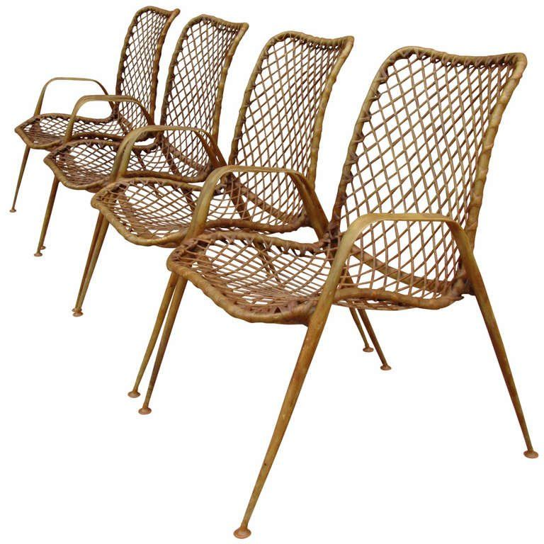 Brilliant Set Of Four Resin String Chairs 1Stdibs Com Dh Chair Gmtry Best Dining Table And Chair Ideas Images Gmtryco