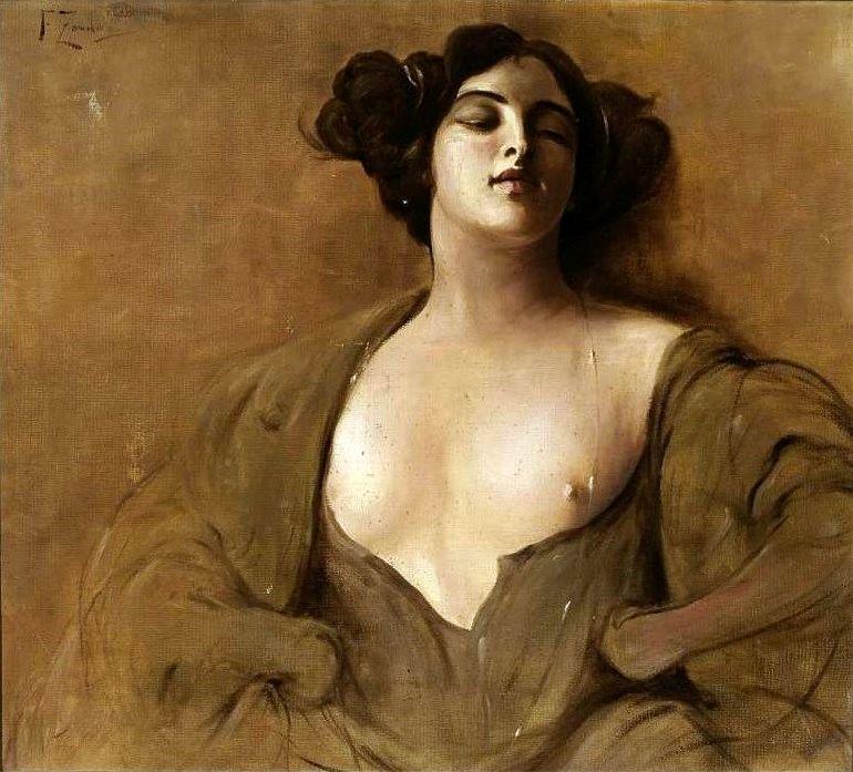 livre-d-art:Franciszek Żmurko.Una Donna (Shrew)ca. 1900