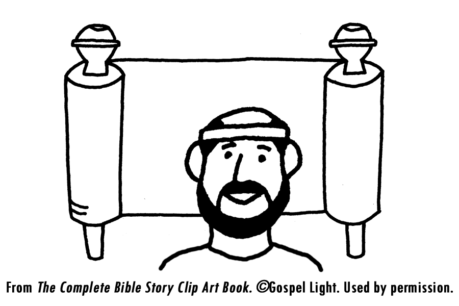 Jeremiah And The Scroll Coloring Page After Going To Link Click Picture