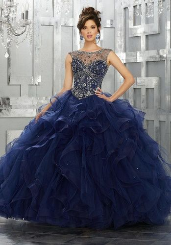 57f45b55d48 Mori Lee Vizcaya Quinceanera Dress Style 89141 in 2019