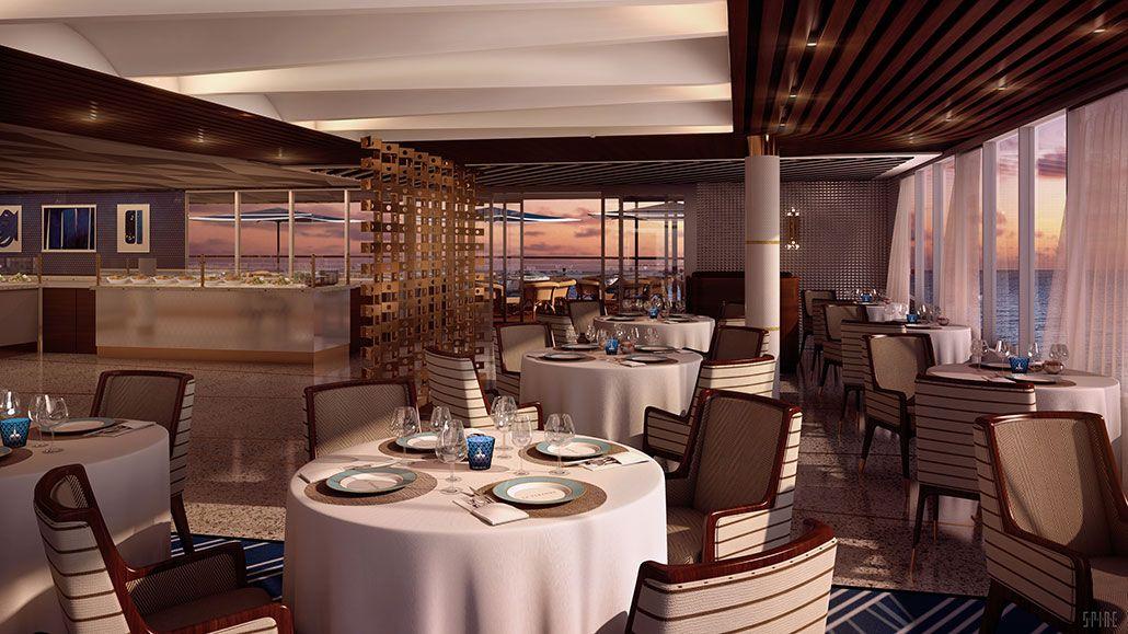 La Veranda Rendering Seven Seas Explorer ~ Regent Seven Seas Extraordinary Explorer Of The Seas Dining Room Inspiration