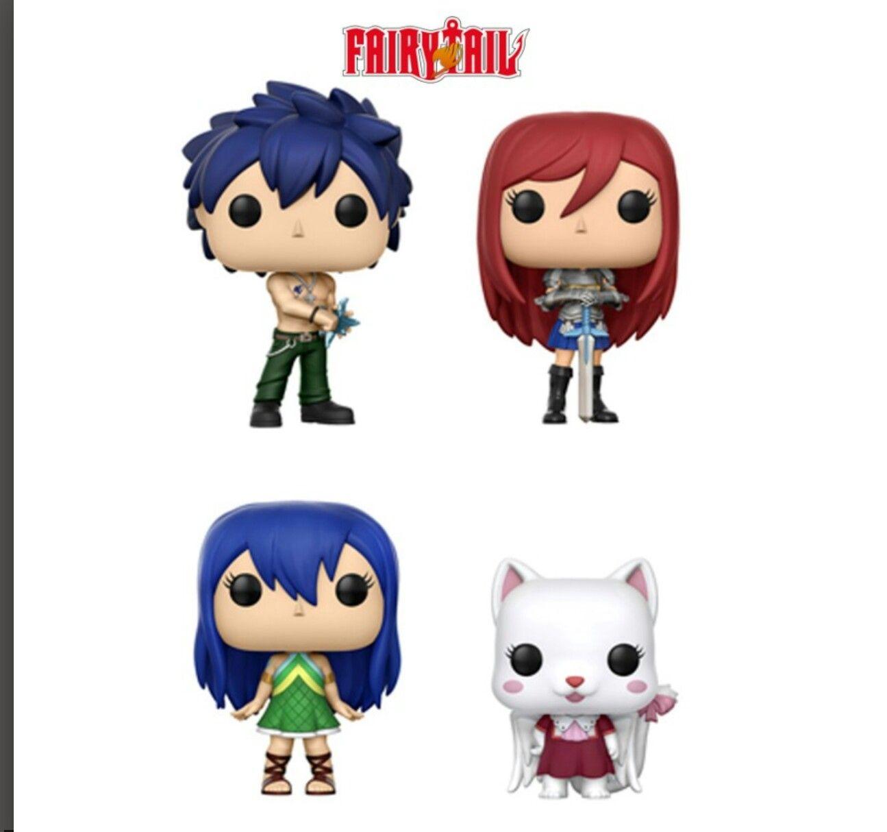New Fairy Tail Funko Pops