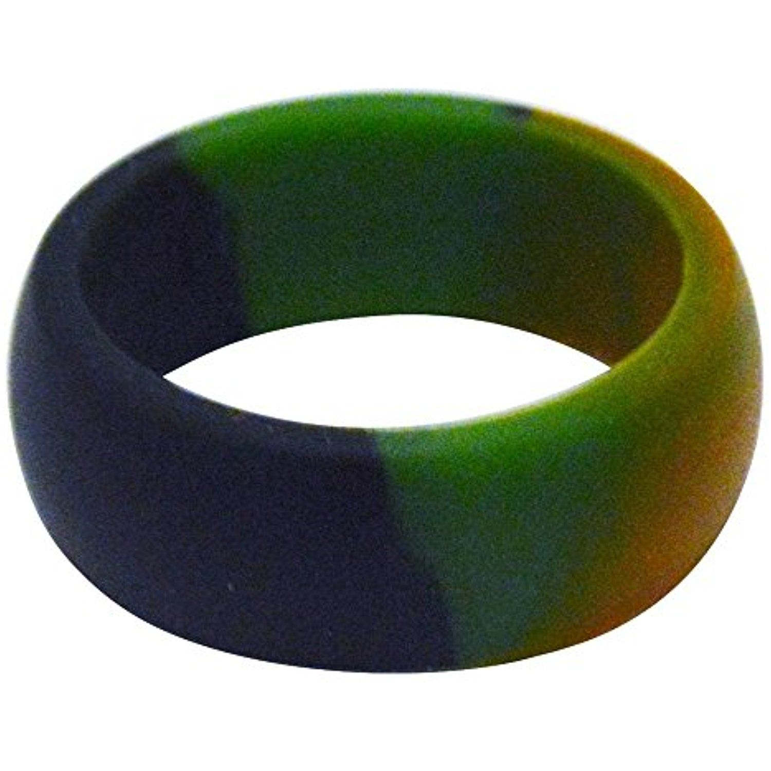 Men's Silicone Wedding Ring by Rubber Diamonds The Safe