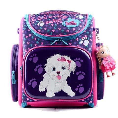4ef68b9fb17e Delune 2018 New Cartoon School Bags Backpack for Girls Boys Bear Pattern Children  Orthopedic Backpack Mochila Infantil Grade 1-5