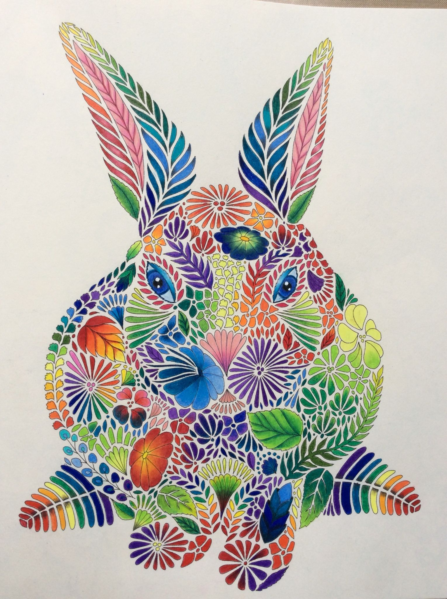 Animal Kingdom From Millie Marotta With Prismacolor Pencils Briahbataryeh