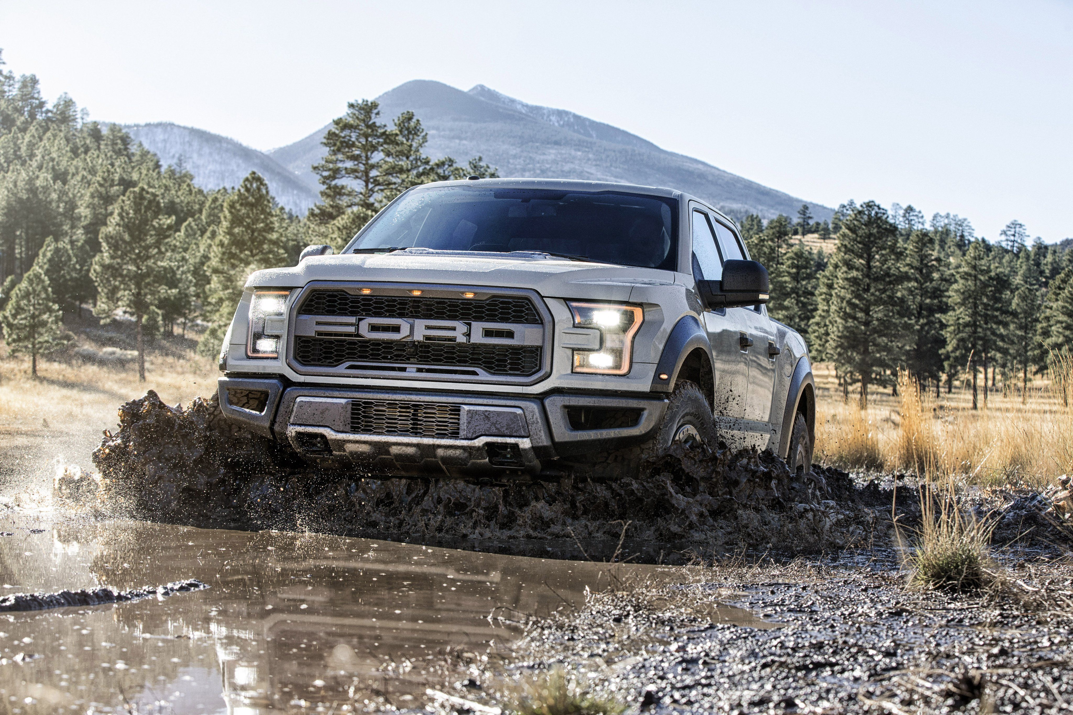 Ford f wallpapers photos images in hd wallpapers 4k pinterest 2017 ford raptor supercrew makes production debut in detroit voltagebd Gallery