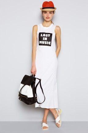 Beyaz Elbise http://indirimkodlarim.com/trendyol