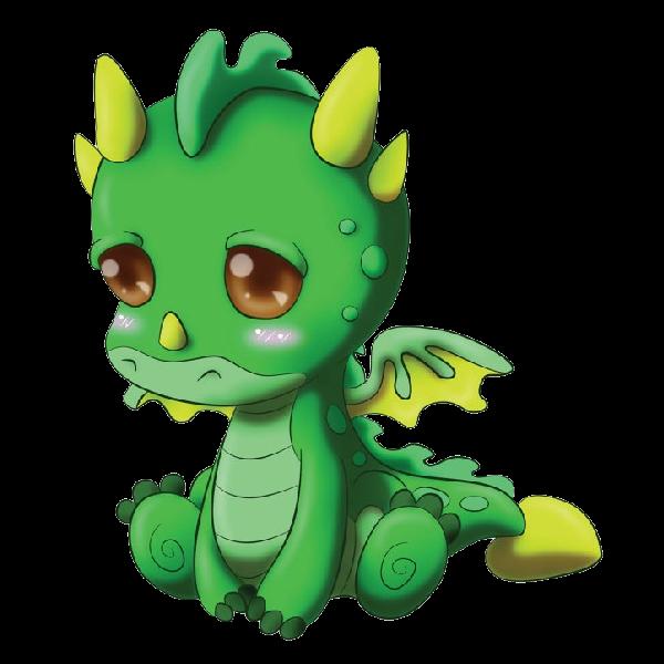 Cute Dragons Cartoon Clip Art Images.All Dragon Cartoon