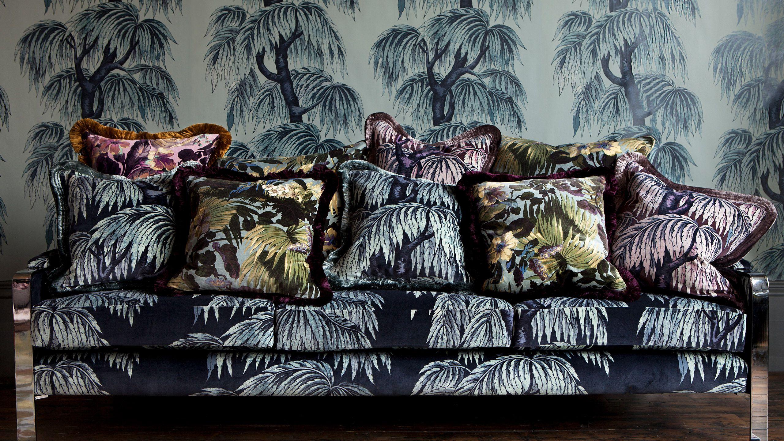 Babylon Luxury interior, Shop wallpaper, British interior
