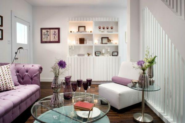 kleine Wohnzimmer Designs Small Living Room Designs Pinterest - Wohnzimmer Modern Lila