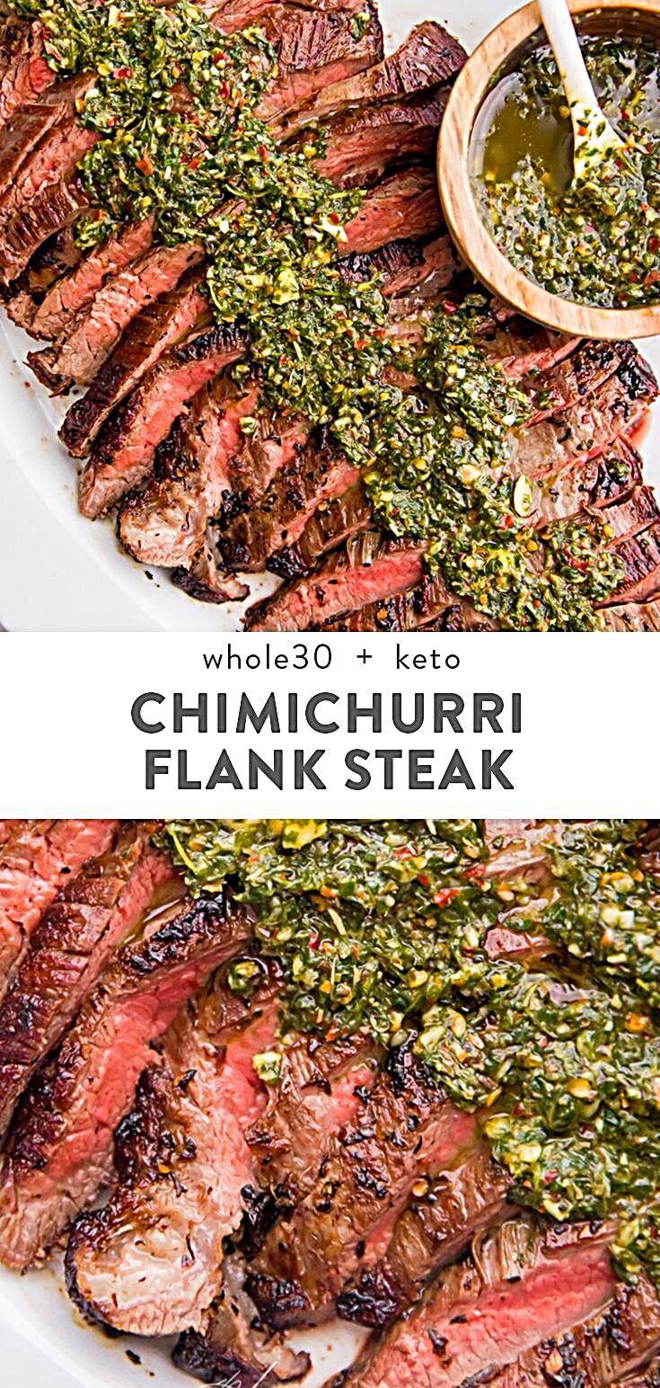 Chimichurri flank steak recipe flank steak recipes