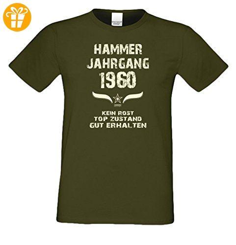 Geschenk zum Geburtstag :-: Geschenkidee Herren kurzarm Geburtstags-Sprüche  T-Shirt mit Jahreszahl :-: Hammer Jahrgang 1955 :-: Geburtstagsgeschenk  Männer ...