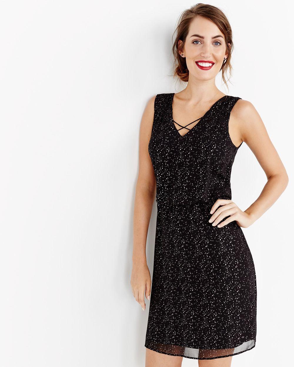 Sleeveless vneck dress gradfarewell pinterest shopping