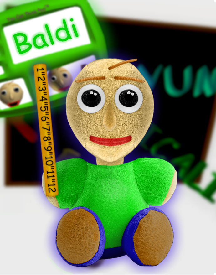 Sanshee - Baldi Plush by SarahDeFroggo225 | Plush, Video
