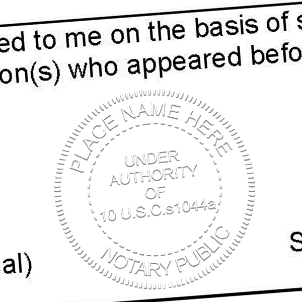 Google Image Result For Https Www Simplystamps Com Media Catalog Product 4 6 4646 Us Military Notary Public Stamp Seal Hcb Png Notary Notary Public Words