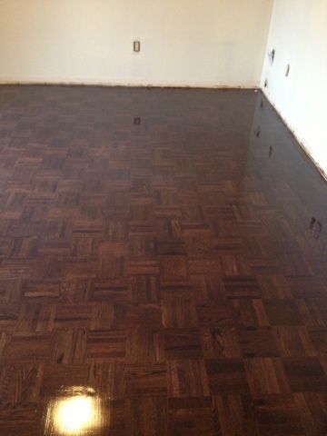 Bespoke Parquet Flooring  Dark and lovely