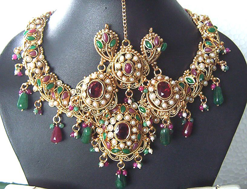 Ancient jewelry in India