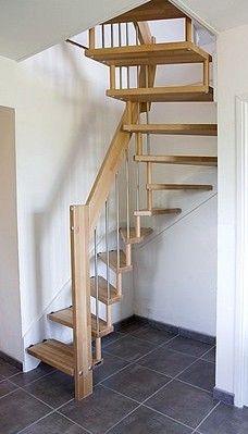 Pingl par ascenso cr ateur d 39 escaliers sur escaliers gain de place faible encombrement for Escalier colimacon gain de place