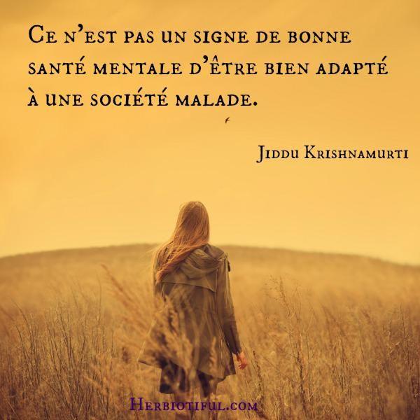 Citation De Jiddu Krishnamurti Belles Phrases Beaux Mots