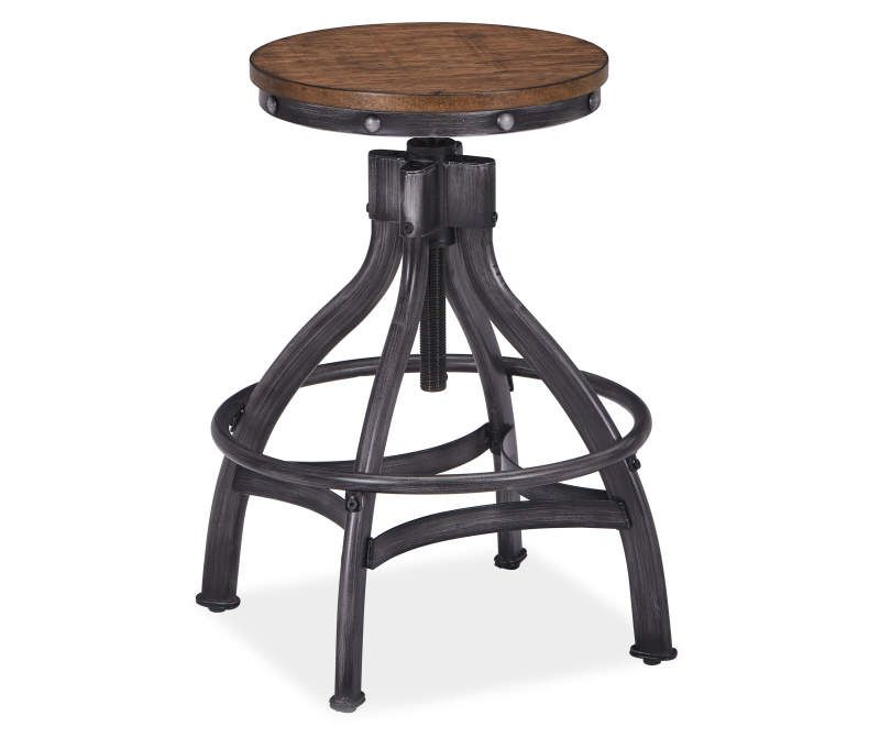 Lane Home Solutions Chandler Antique Adjustable Height Barstools 2 Pack Big Lots In 2020 Counter Height Bar Stools Bar Stools Counter Height Bar