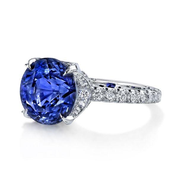 2554904524779 Omi Privé color change violet-blue #sapphire ring | Rings | Blue ...