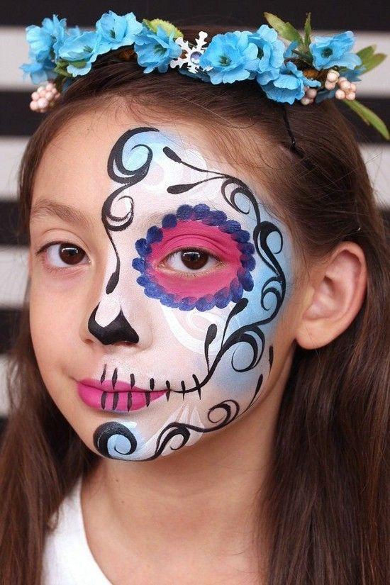 Schminktipps Halloween Kinder.Schminktipps Karneval 40 Ideen Fur Kinderschminken Kinder Schminken Halloween Schminken Kinder Kinderschminken