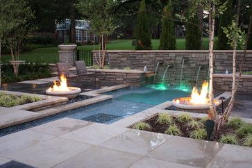 spool designs dallas | Courtyard SPool - modern - pool - dallas - by ...