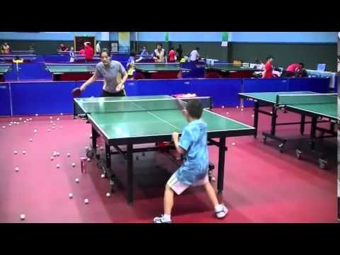 Table Tennis Training S Kids Of China Hd Table Tennis Tennis Table