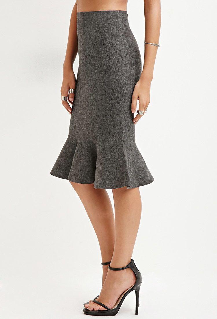 a52d41808c8 Fluted Pencil Skirt