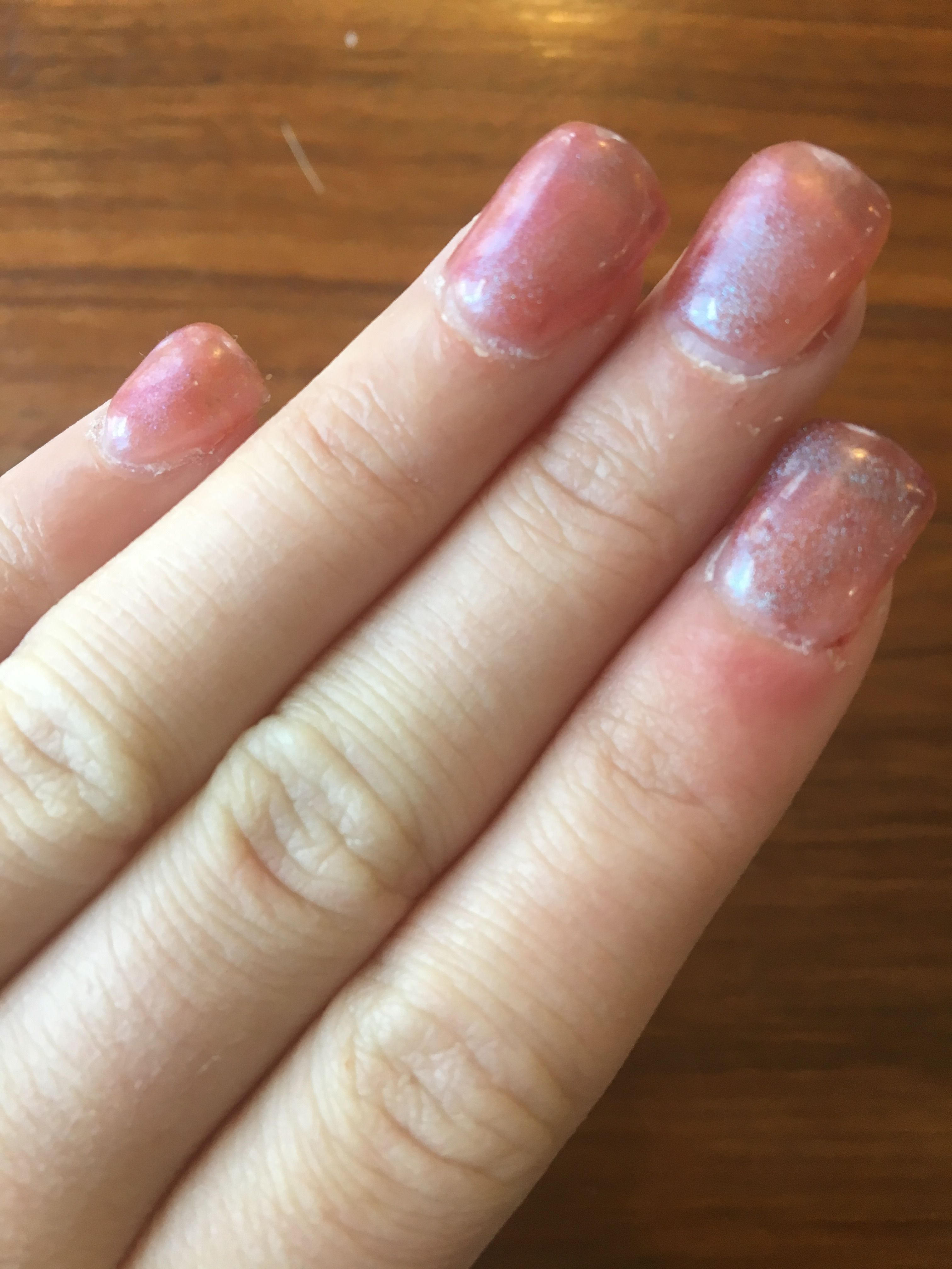 lovely cool acrylic nail colors