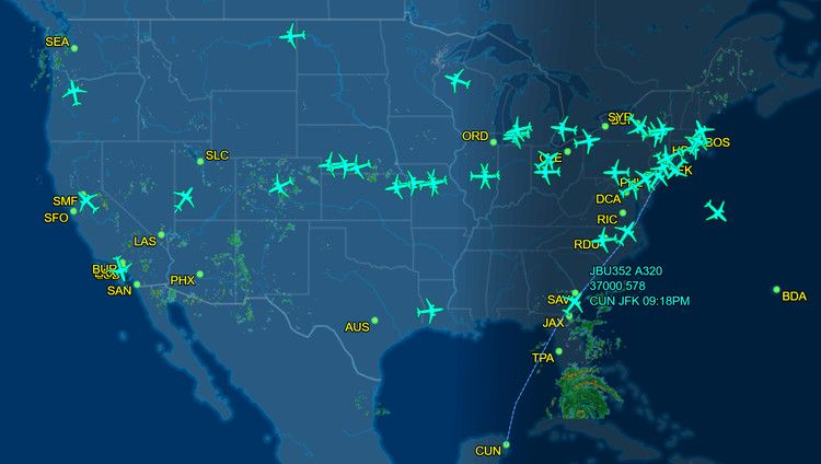 How flighttracking site FlightAware works, for consumers