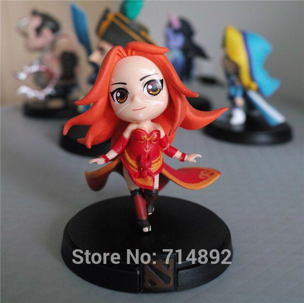 dota 2 lina toy dota2 heroes lina pvc q version figure 4 free