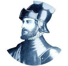 08 - En 1509, hubo una expedición comandada por el bachiller y Alcalde Mayor de Nueva Andalucía Martín Fernández de Enciso que salió a socorrer a su superior jerárquico, el gobernador Alonso de Ojeda.