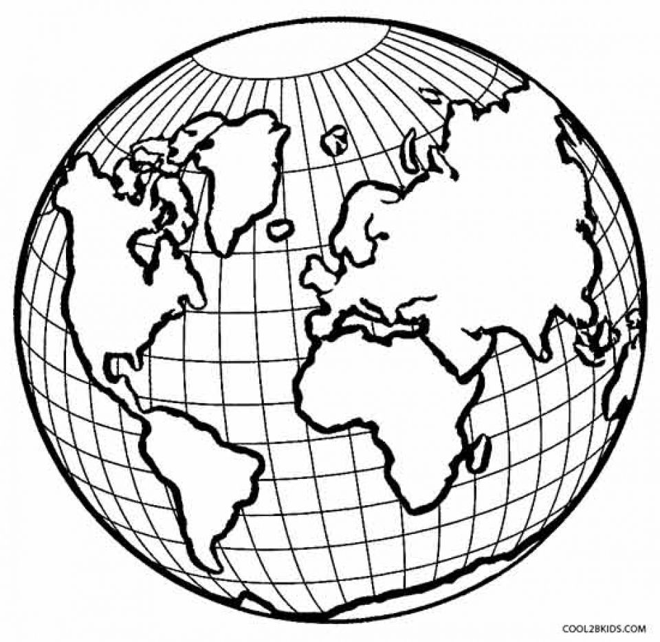 Get This Printable Earth Coloring Pages Online Gvjp11 Earth