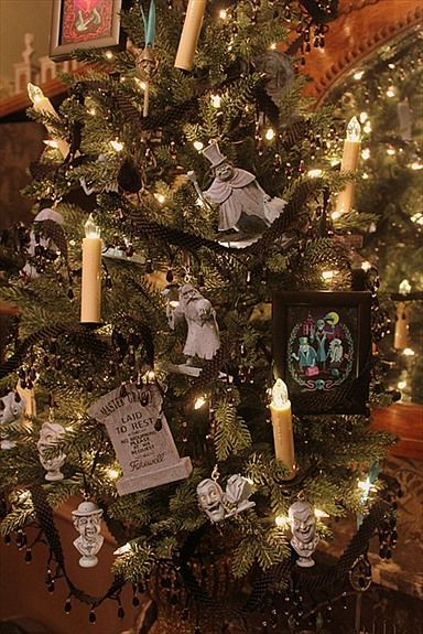Disney Haunted Mansion Inspired Christmas Tree Disney Haunted