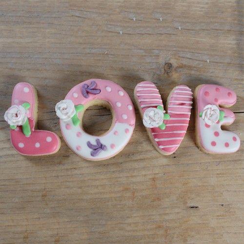 Recept: Love koekjes - Liefde - Recepten | Deleukstetaartenshop.nl