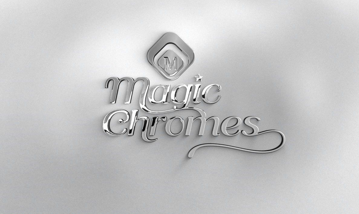 Magic Chrome Pigment By Magnetic Nails