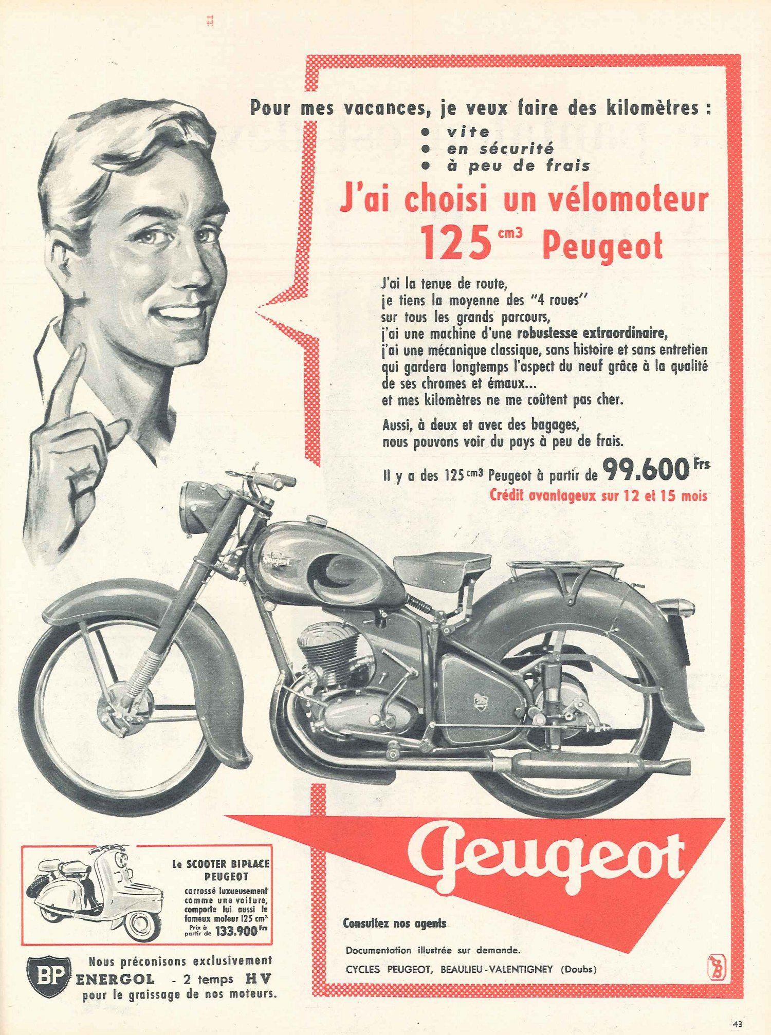 Velomoteur 125 Cm3 Peugeot Jours De France 21 Juillet