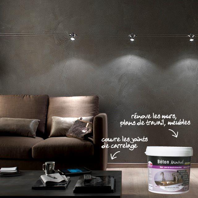 enduit b ton min ral resinence gris ardoise 6kg cuisine beton mineral beton mineral. Black Bedroom Furniture Sets. Home Design Ideas