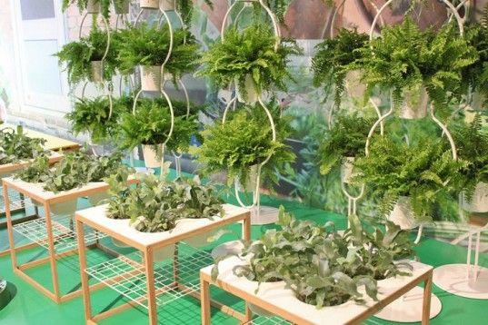 Plant tables by ikea salone internazionale del mobile for Ikea salone del mobile