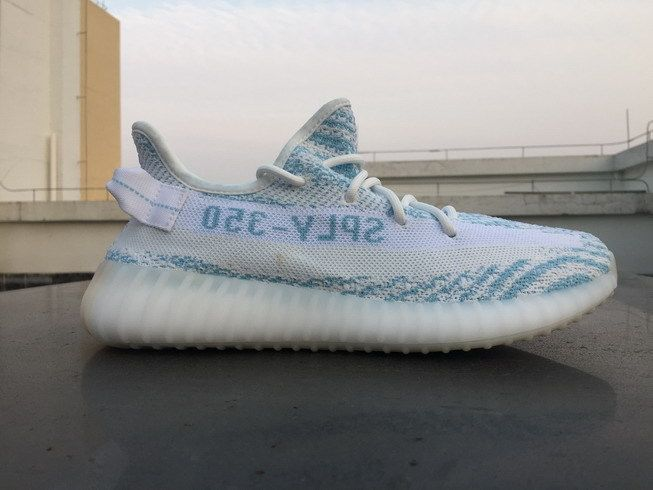 9c42ac91a 2017 New Adidas Yeezy Boost 350 V2 Blue Zebra For Sale